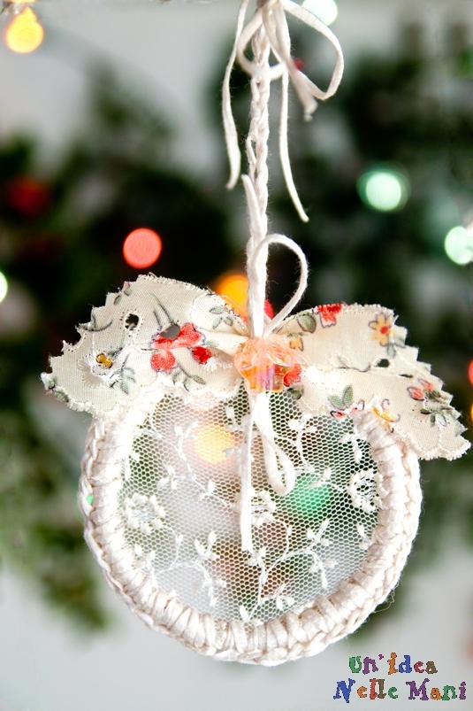 Exceptionnel Pizzi e Merletti da appendere a Natale | Lavori Creativi WV75