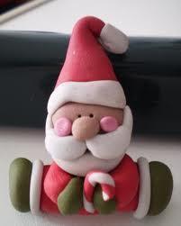Lavoretti Di Natale Con Pasta Fimo.Un Babbo Natale Con La Plastilina Si Puo Fare Lavori Creativi